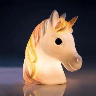 White Unicorn LED Table Lamp