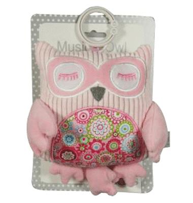 ES Kids - Pink Musical Owl