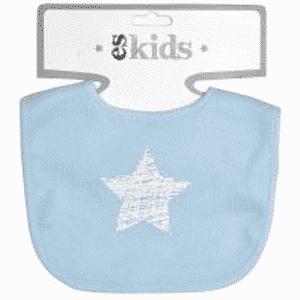 ES Kids - Blue Scribble Star Bib