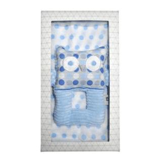 ES Kids - 2Pcs Blue Owl Baby Gift Box