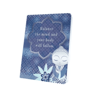 Little Buddha – Notebook – Balance The Mind