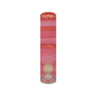 Little Buddha – Magnetic Bookmark – What You Think