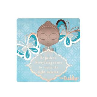 Little Buddha – Fridge Magnet – Be Patient