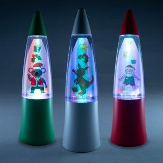 Christmas Shake and Shine Lamp, Christmas presents for kids