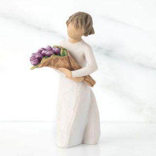 Willow Tree Surprise Figurine. Thank you gift, teacher appreciation.