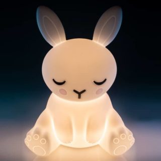 Lil Dreamers Bunny Soft Touch LED Light. Gift idea for kids