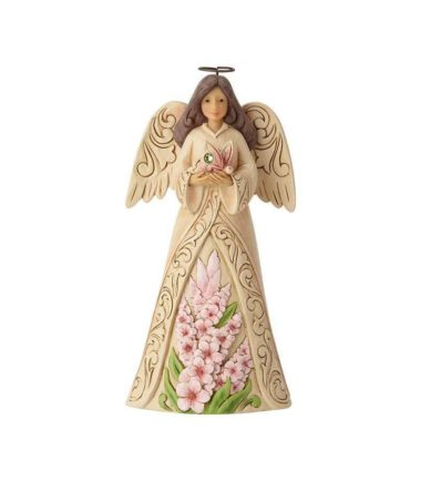 JimJim Shore Monthly Angels - August Angel. Birthday Gifts