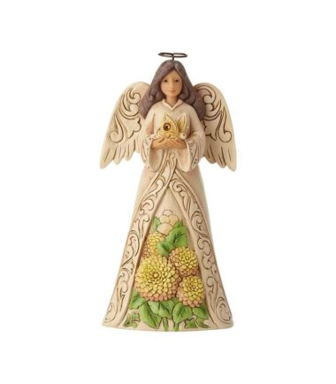 Jim Shore Monthly Angels - November Angel. Birthday Gifts