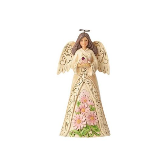 Jim Shore Monthly Angels - October Angel. Birthday Gifts