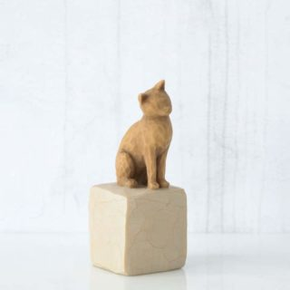 Willow Tree - Love my Cat (Light) Figurine. Gifts for Pet Owner