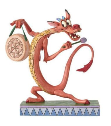 Jim Shore Disney Traditions - Mushu Personality Pose - Look Alive