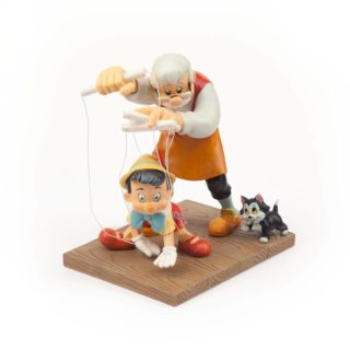 Disney Enchanting Little Wooden Head Pinocchio Figurine