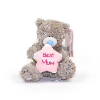 Me to You S4 Best Mum Flower Tatty Teddy Bear. Gifts for Mum