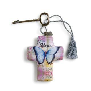 artful cross hope butterfly