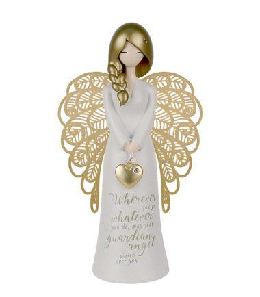 guardian angel figurine 175mm