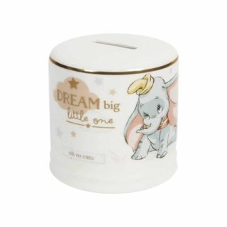 disney baby dumbo ceramic money bank