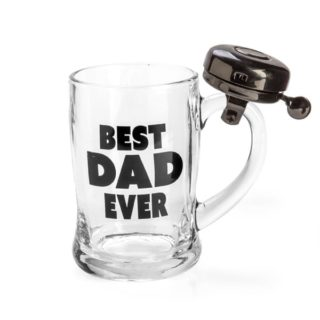 Best Dad Ever Bell Mug, gift for Father's day, Dad Gift