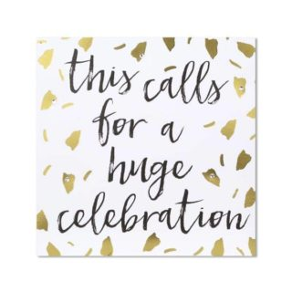 """Classic Piano Congratulations Card - """"This calls for a huge celebration"""""""