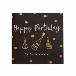 Classic Piano Gift Card - Happy Birthday, let's celebrate!