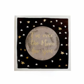 Classic Piano Greeting Card - I'm over the Moon for you