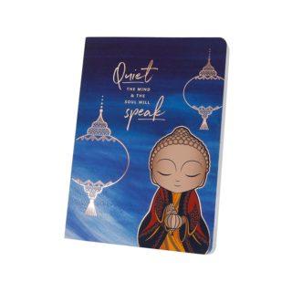 Little Buddha – Notebook – Quiet The Mind