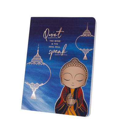 Little Buddha – Notebook – Quiet The Mind