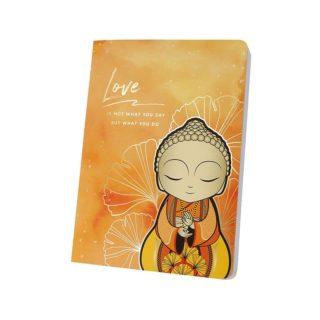 Little Buddha – Notebook – Love Is