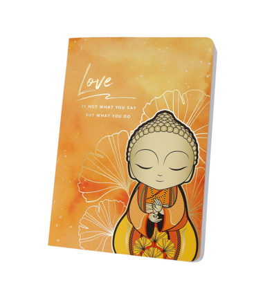 Little Buddha – Notebook – Love Is