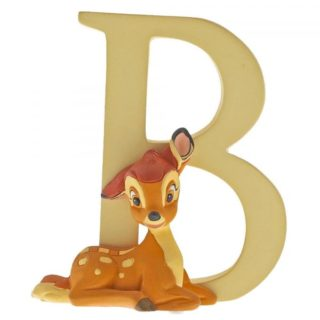 Disney Enchanting Alphabet B Bambi Figurine