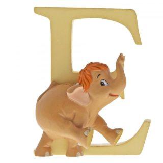Disney Enchanting Alphabet E Baby Elephant Figurine