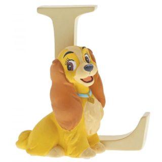 Disney Enchanting Alphabet L - Lady Figurine