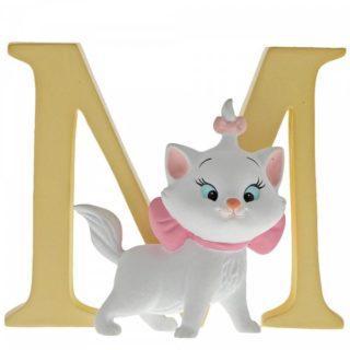 Disney Enchanting Alphabet M - Marie Figurine