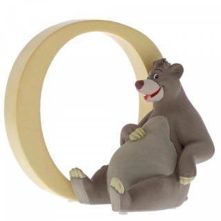 Disney Enchanting Alphabet O - Baloo Figurine