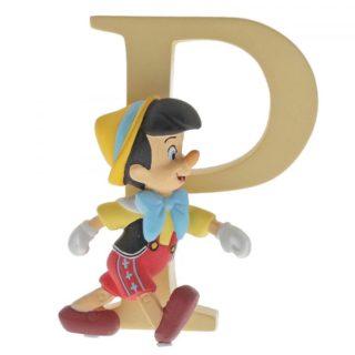 Disney Enchanting Alphabet P - Pinocchio Figurine
