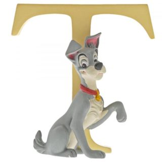 Disney Enchanting Alphabet T – Tramp Figurine