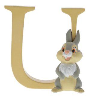 Disney Enchanting Alphabet U – Thumper Figurine