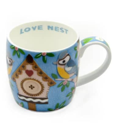 Royal Worcester Mug - Love Nest