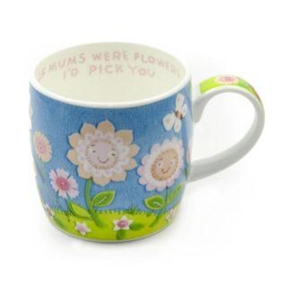 Royal Worcester Mug - If Mom Were Flowers I'd Pick You