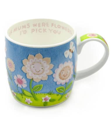 Royal Worcester Mug - If Mom Were Flowers I'd Pick You