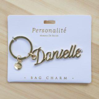 Bag Charm Keyring - Danielle
