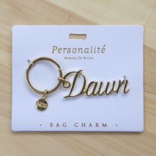 Bag Charm Keyring - Dawn