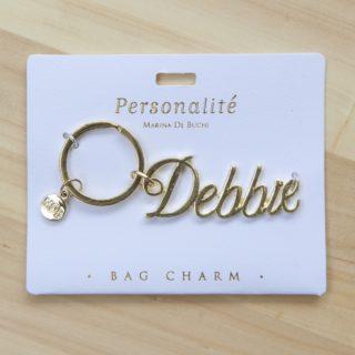 Bag Charm Keyring - Debbie