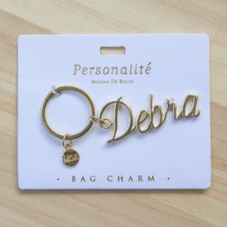 Bag Charm Keyring - Debra