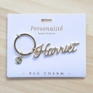 Bag Charm Keyring - Harriet