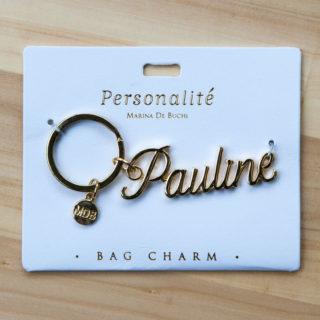 Bag Charm Keyring - Pauline