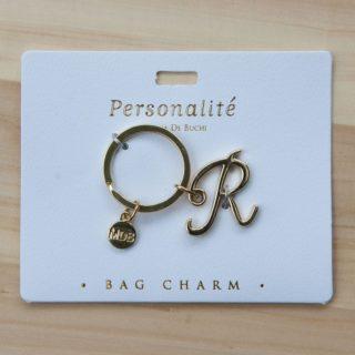 Bag Charm Keyring - R