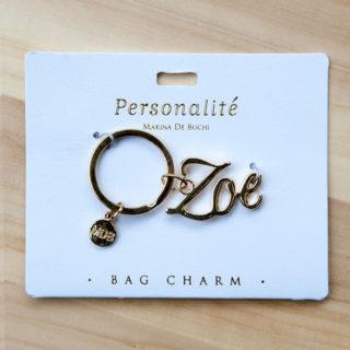 Bag Charm Keyring - Zoe