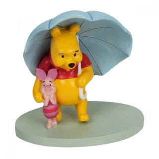 Magical Moments - Pooh Umbrella Together Figurine