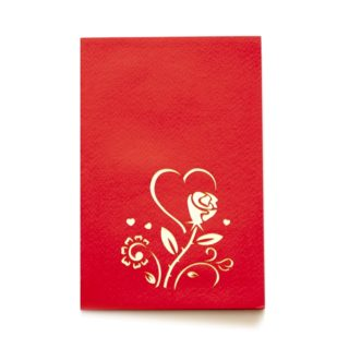 Pop-Up Card - I Love You Hearts