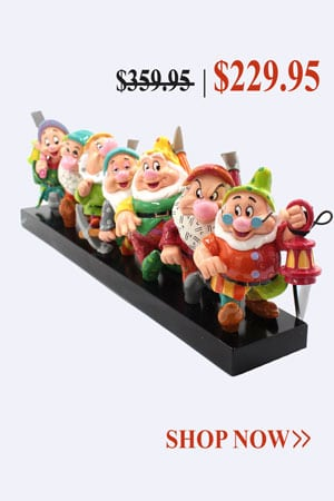 Britto Disney Seven Dwarfs